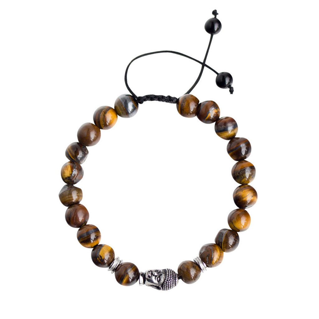 The Dalla - Tiger Eye, Rope