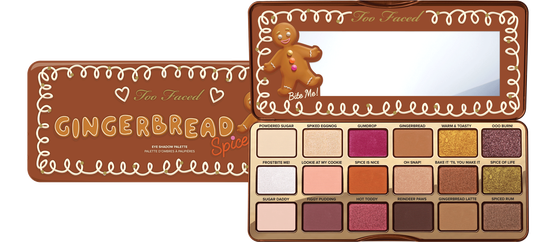 Too Faced 'Gingerbread Spice' eye shadow palette