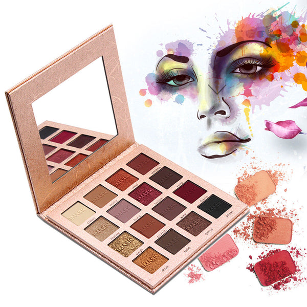 IMagic Pressed Glitter eye shadow palette