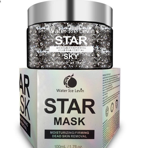 Star Mask Glitter Face Mask