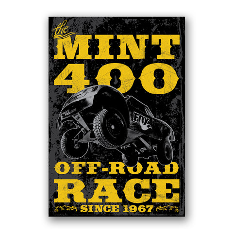 2013 Official Mint 400 Fine Art Print
