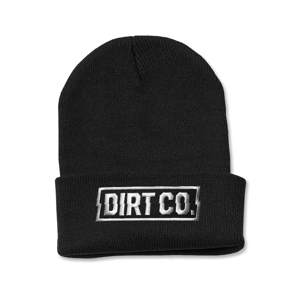 Dirt Co. Rocker Beanie (Black)