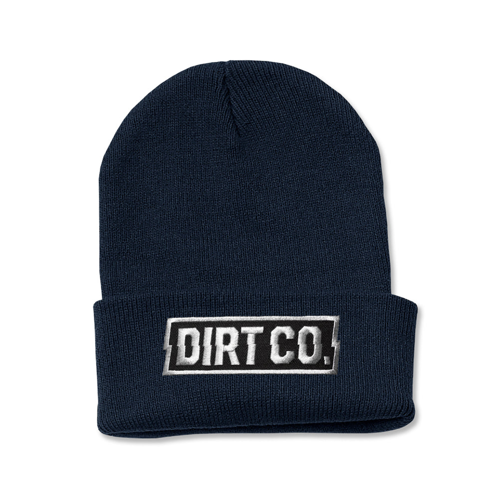 Dirt Co. Rocker Beanie (Navy)