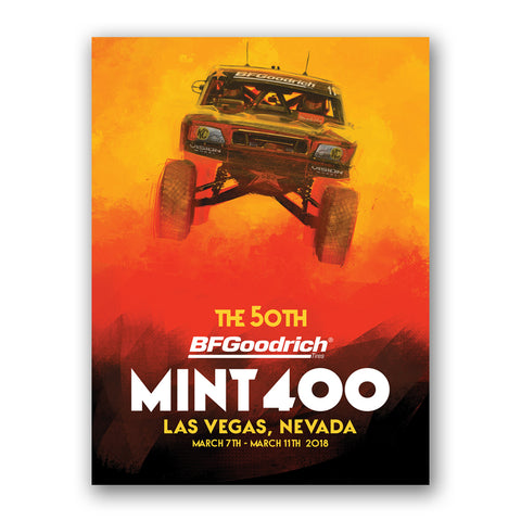2018 Official Mint 400 Poster - Rob Mac