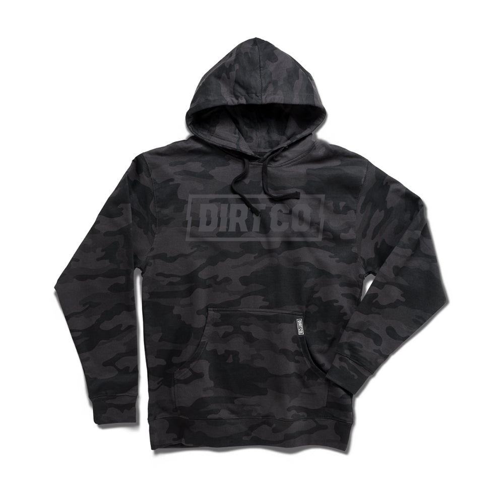 Dirt Co. Black Out Camo Hoodie