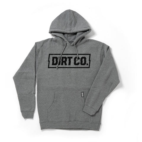 Dirt Co. Rocker Hoodie Heavy Weight (Gray)