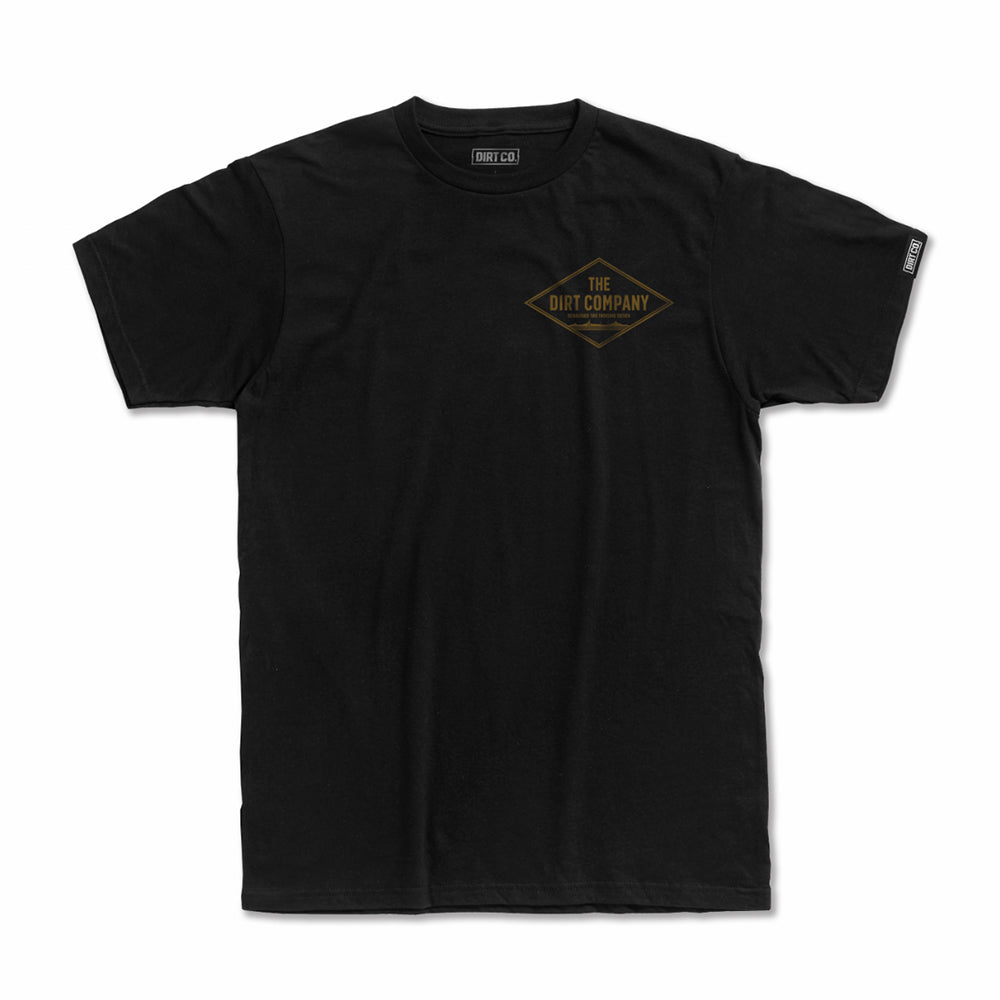 Dirt Co. Diamond T-Shirt (Black)