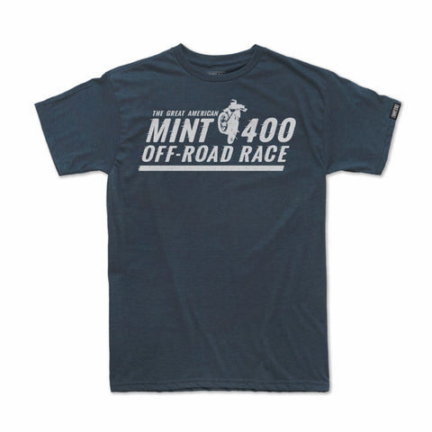 2019 Mint 400 T-shirt Crossed Up (Navy Heather)