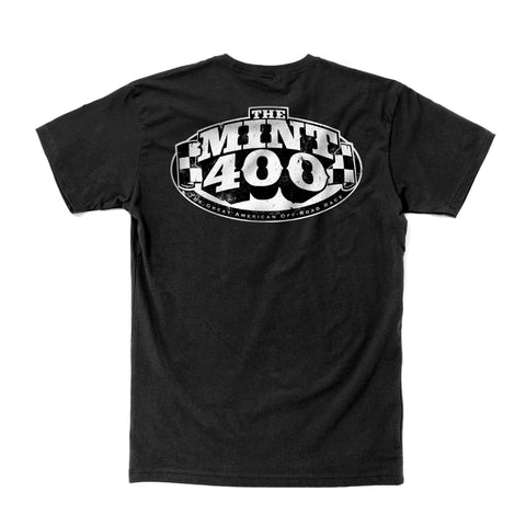 2019 Mint 400 OG Logo Black (Large Back Print)