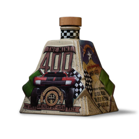 2019 Mint 400 Decanter Filled with City Lights Moonshine (Reservation)
