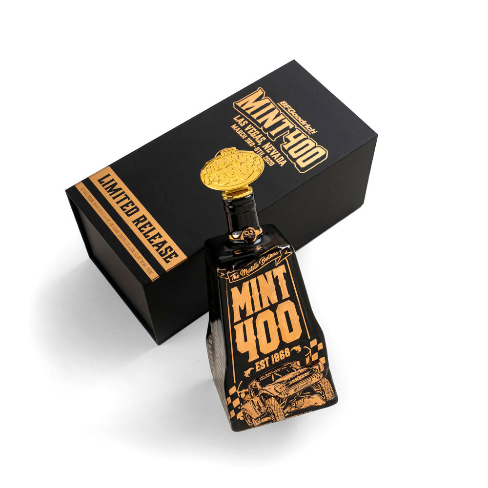 2020 Mint 400 Decanter ONLY (No City Lights Moonshine) - Gold Variant