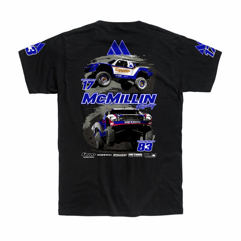 Dirt Co. Team McMillin T-Shirt (Black)