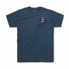 2020 UTV World Championship Event T-shirt (Heather Mid-Blue)