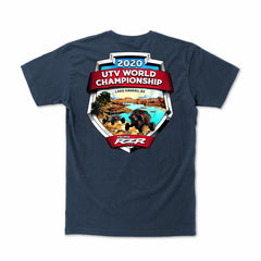 2020 UTV World Championship Event T-shirt (Harbor Blue) Youth
