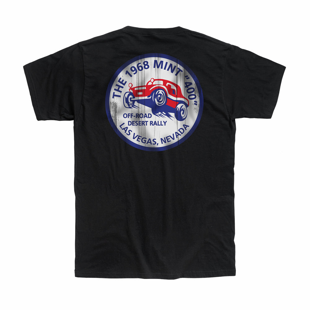 2020 Mint 400 Desert Rally T-Shirt (Black)