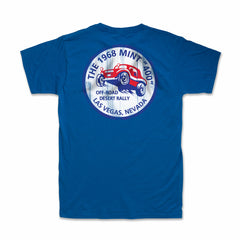 1968 Mint 400 Desert Rally T-Shirt (Royal Blue)