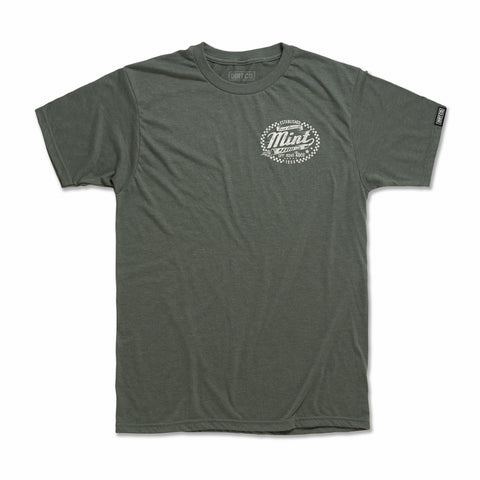 2020 Mint 400 Loud Pipes T-Shirt (Heather Olive Green)