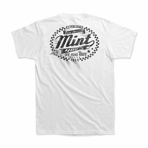 Mint 400 Loud Pipes T-Shirt (White)