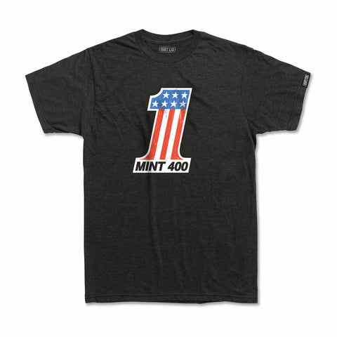 Mint 400 Podium T-Shirt (Charcoal Heather)