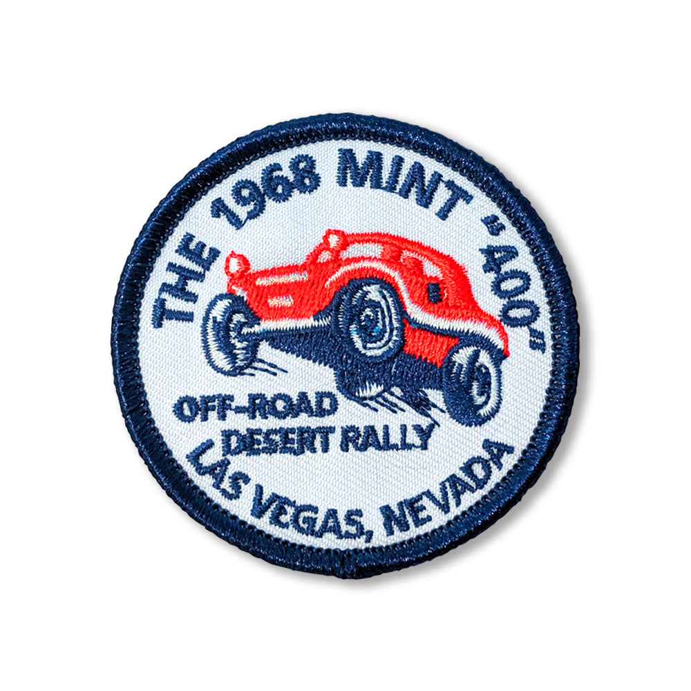 Mint 400 Patch (The 1968 Mint 400 Off Road Desert Rally)