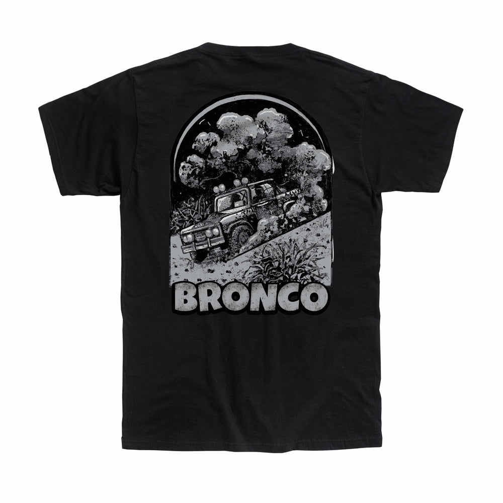 Dirt Co. American Bronco T-Shirt (Black)