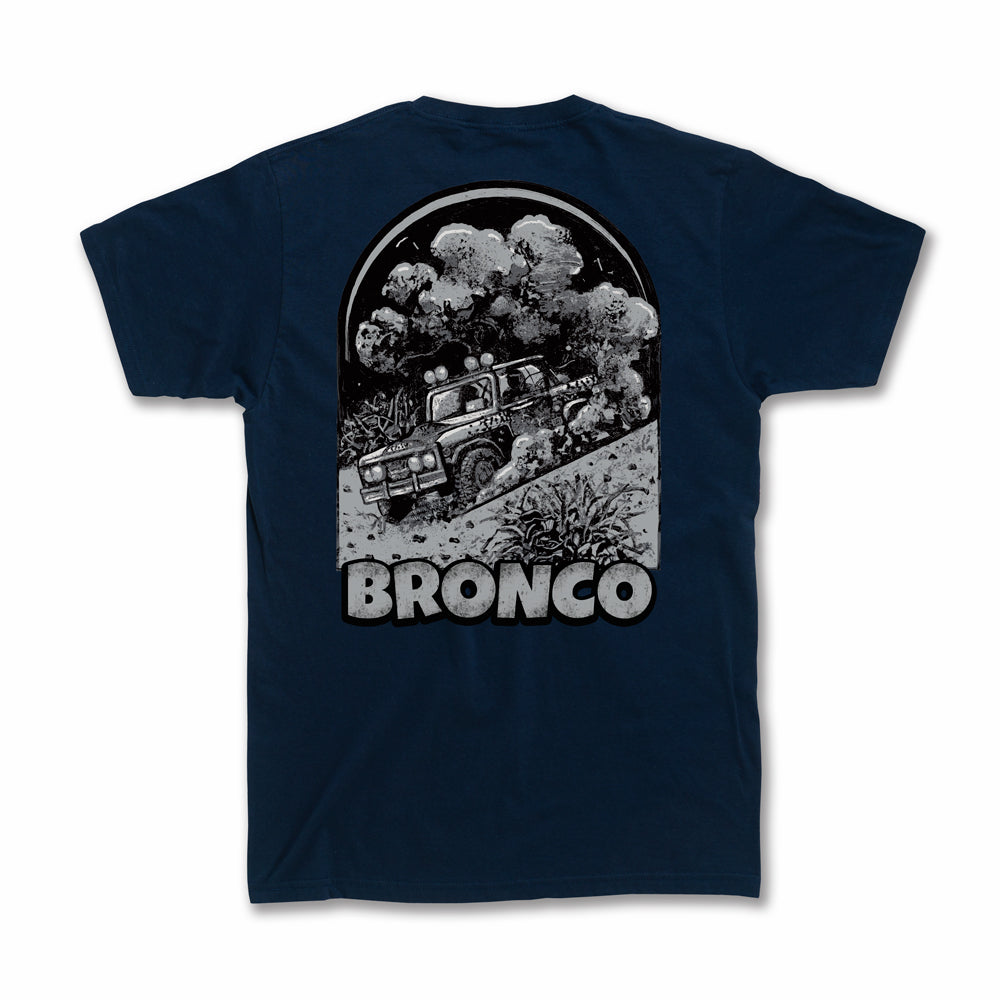 Dirt Co. American Bronco T-Shirt (Navy)