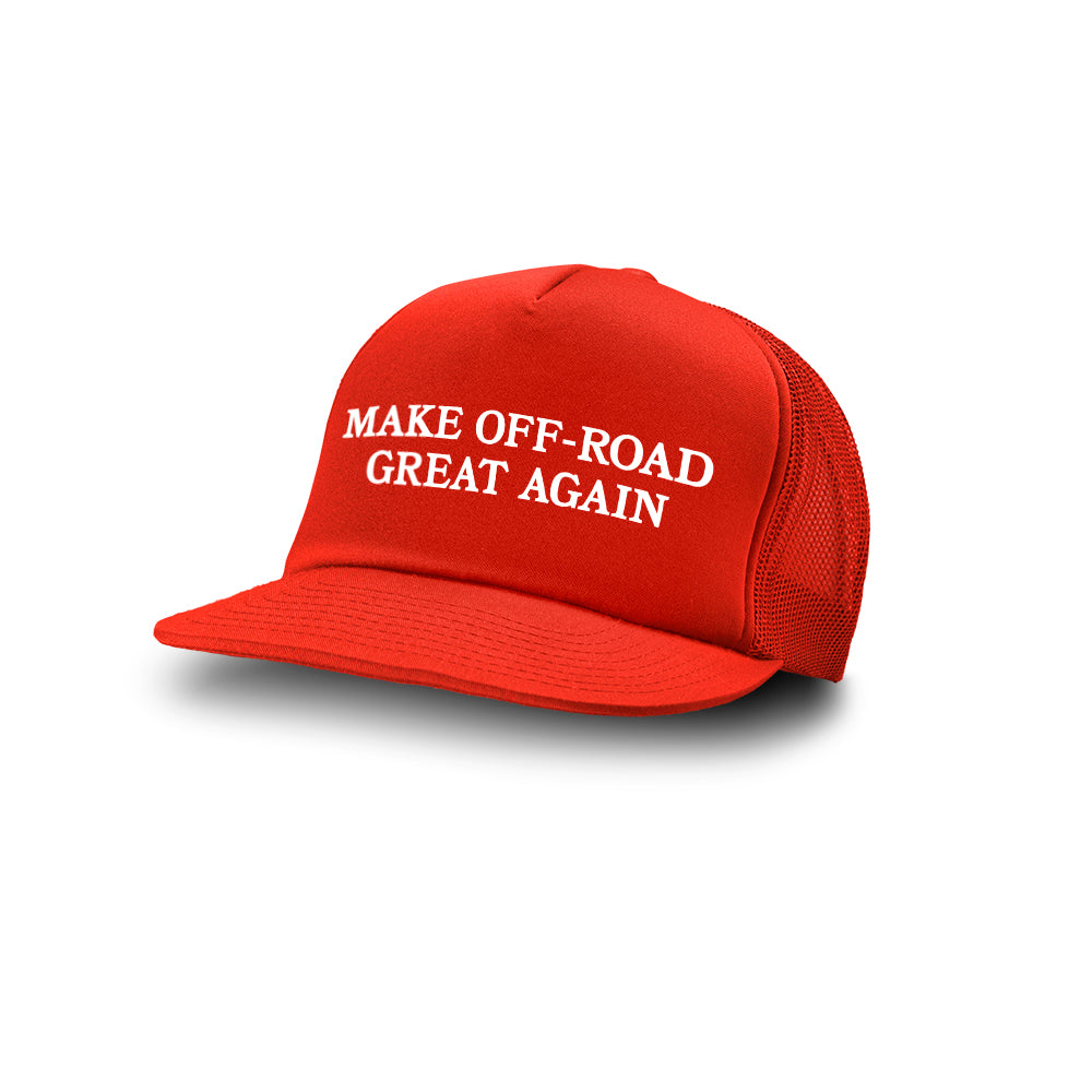 Dirt Co. Make Off-Road Great Again! M.O.G.A. Foam Trucker Hat