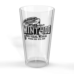 2020 Mint 400 Pint Glass