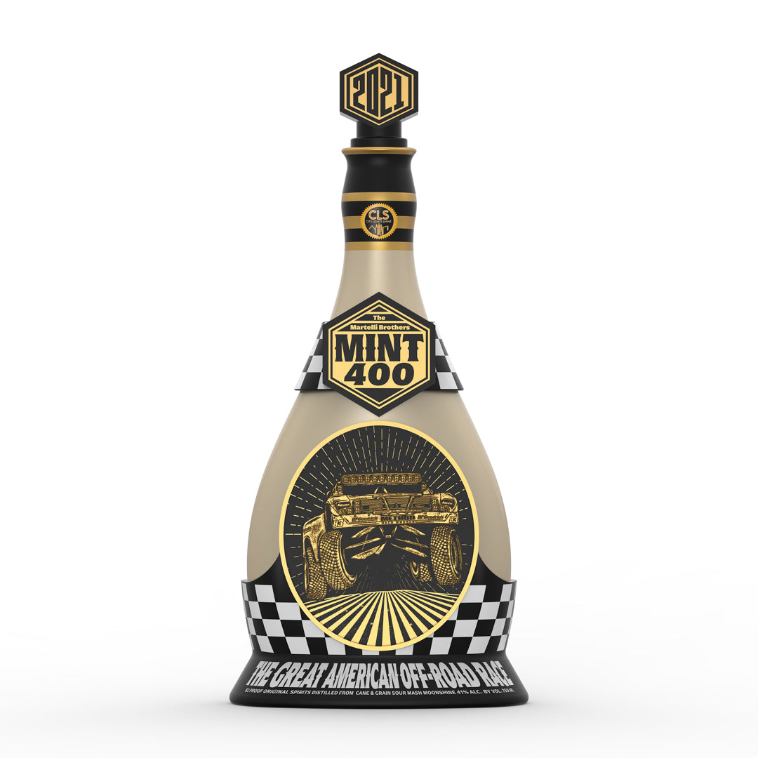 2021 Mint 400 Decanter ONLY (No City Lights Moonshine)