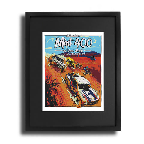 2021 Official BFGoodrich Tires Mint 400 Fine Art Print