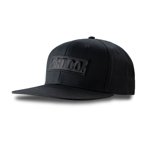 Dirt Co. Murdered Out Black Hat