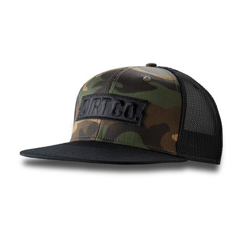 Dirt Co. Murdered Out Camo Hat
