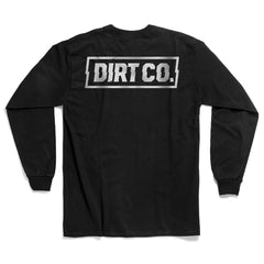 "DIRT CO. ""ROCKER"" Long Sleeve T-Shirt (Black)"
