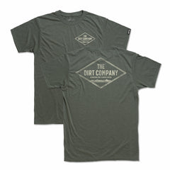 Dirt Co. Diamond T-shirt (Heather Olive Green)