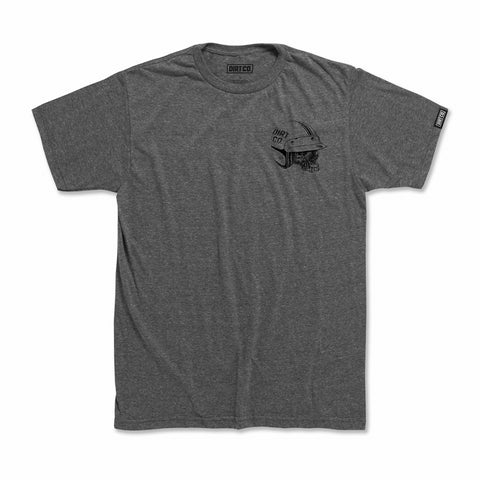 Dirt Co. Hellman T-Shirt (Heather Graphite Gray)