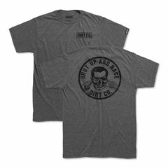 Shut Up 2 and Race T-Shirt (Graphite Gray)