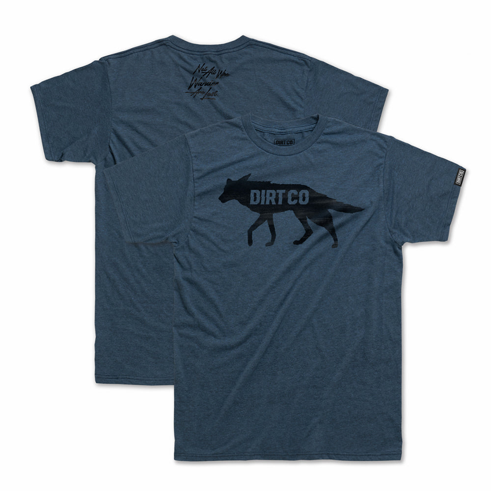 Dirt Co. Coyote T-Shirt (Heather Mid Blue)