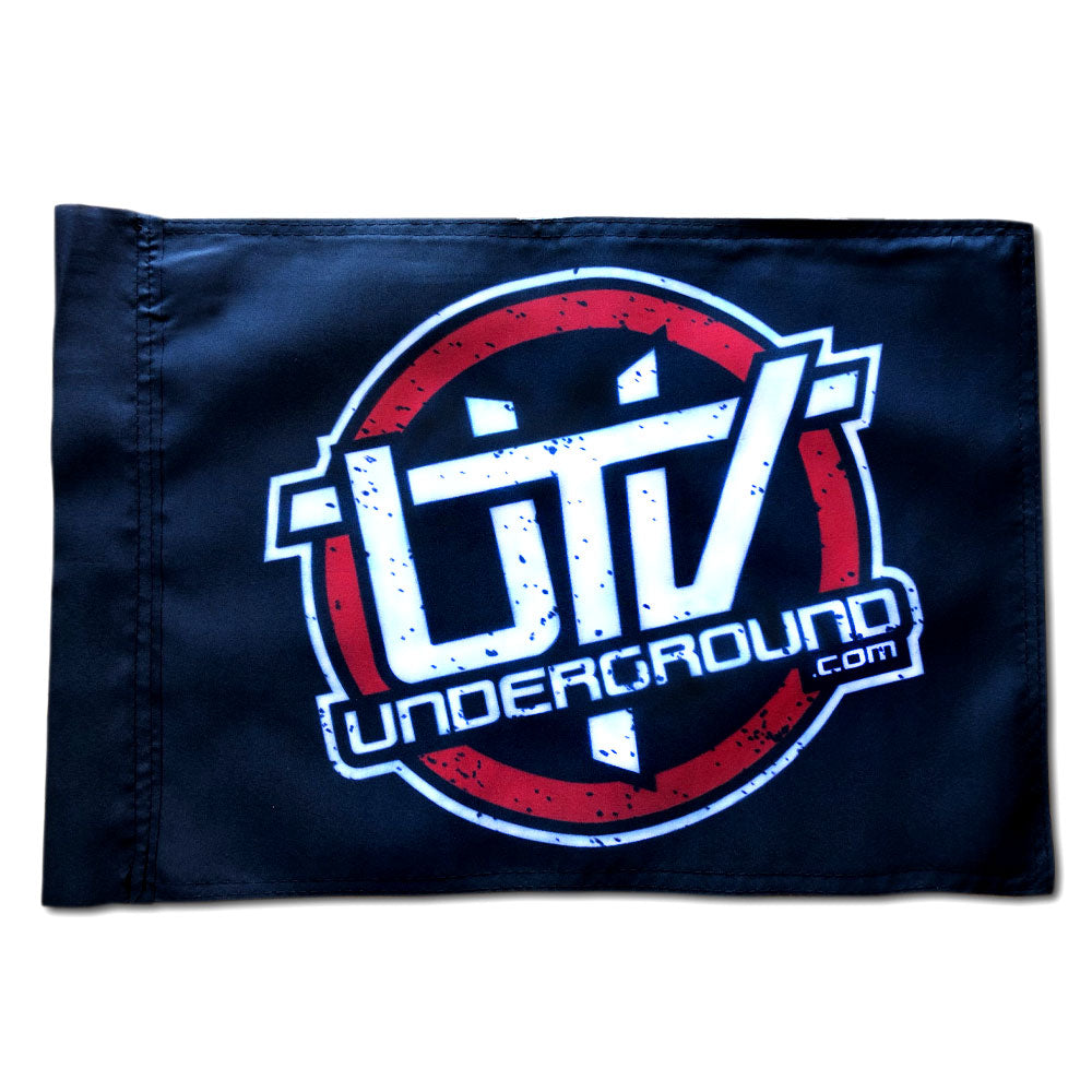 UTVUnderground Whip Flag (Black)