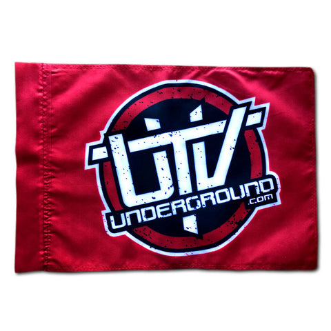 UTVUnderground Whip Flag (Red)