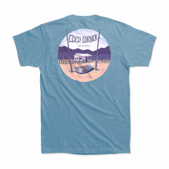 Dirt Co. Coco's Corner T-Shirt (Steel Blue)