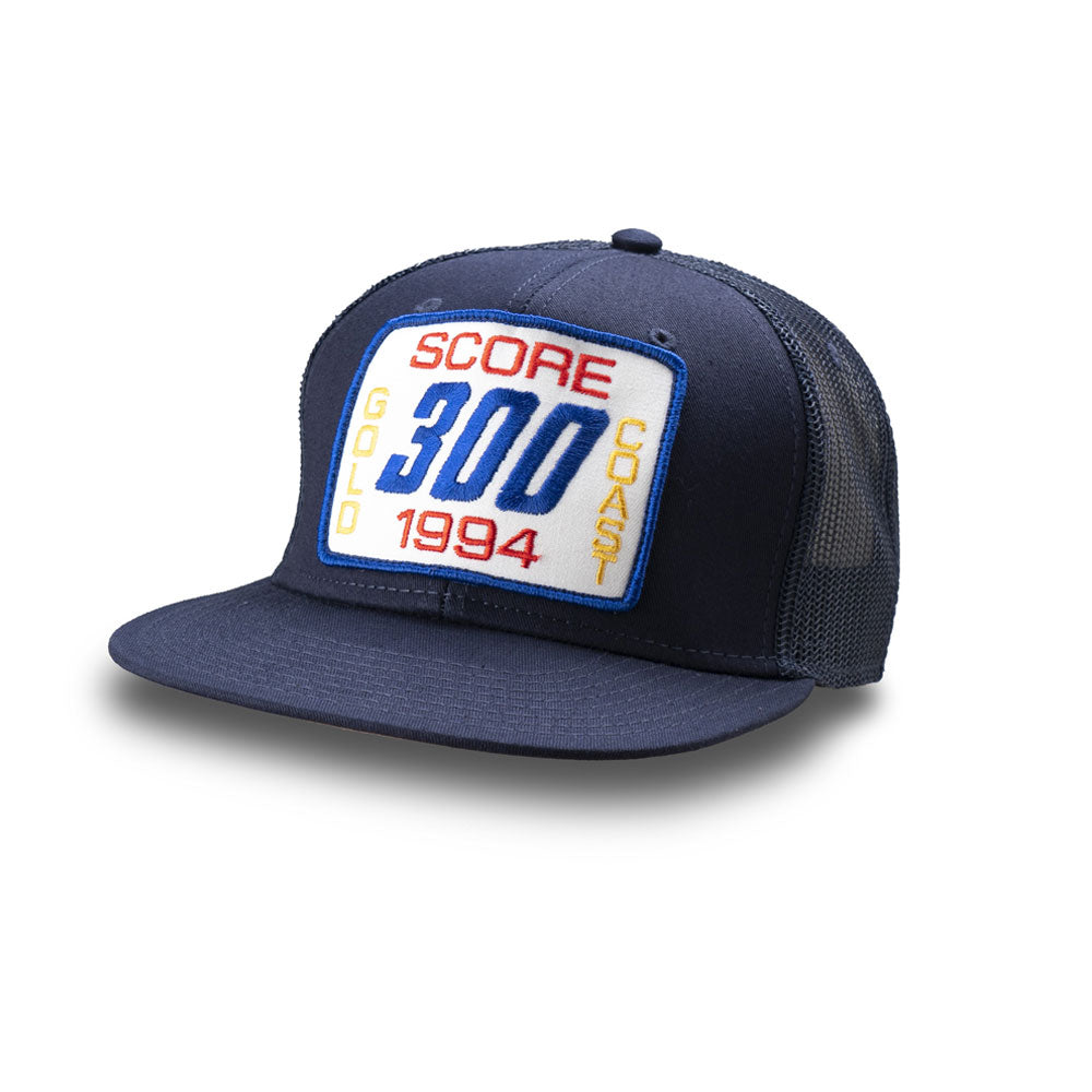 Dirt Co. 1994 SCORE Gold Coast 300 Vintage Patch Hat (Navy/ Navy Mesh)