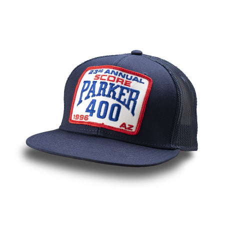 Dirt Co. 1996 SCORE Parker 400 Vintage Patch Hat (Navy/ Navy Mesh)
