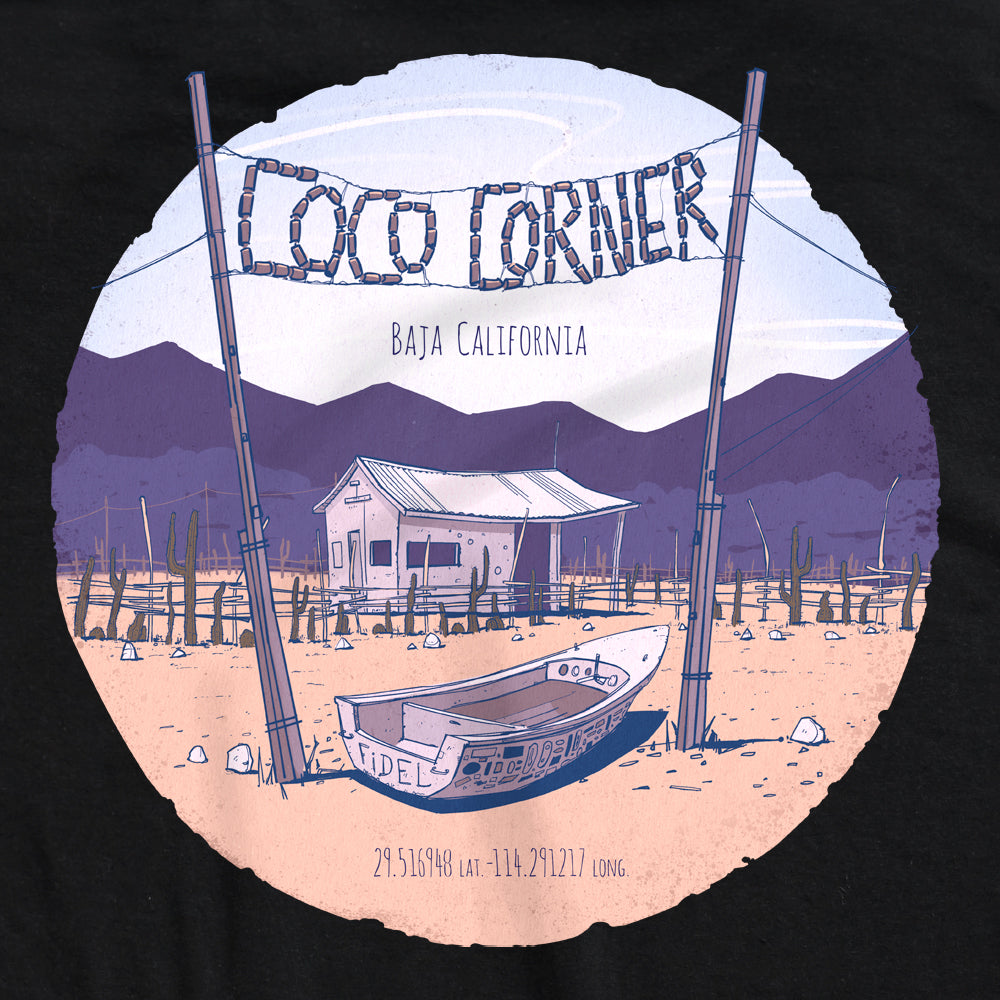 Dirt Co. Coco's Corner T-Shirt (Black)