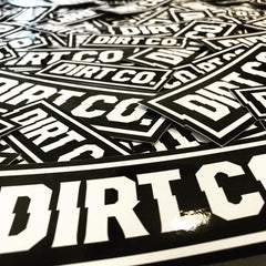 Dirt Co. Stickers (10 Pack)