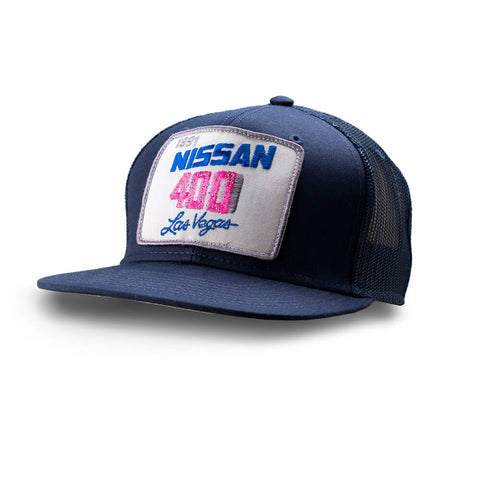 Dirt C. 1991 Nissan 400 Vintage Patch Hat (Navy/ Navy Mesh)