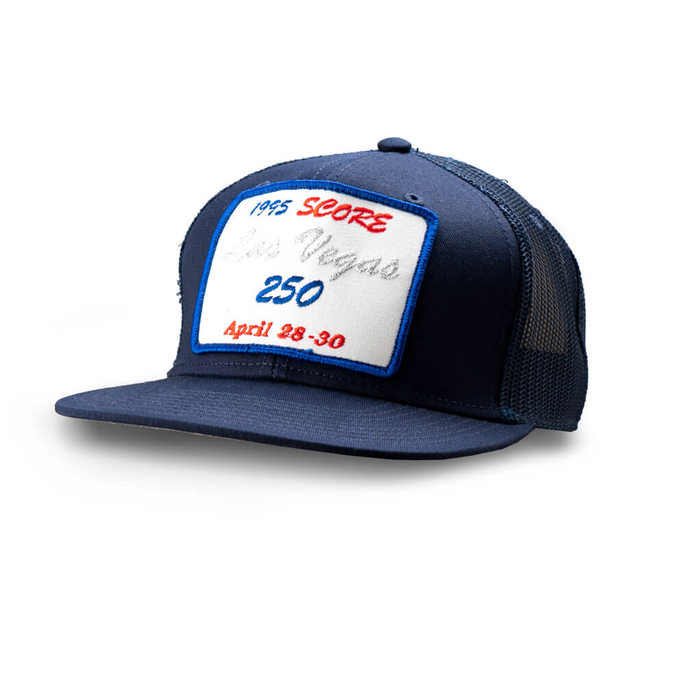 Dirt Co. 1995 SCORE Las Vegas 250 Vintage Patch Hat (Navy/ Navy Mesh)