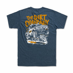 Dirt Co. Crowd Pleaser T-Shirt (Heather Mid Blue)