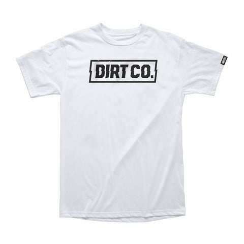 Dirt Co. Rocker T-Shirt (White)