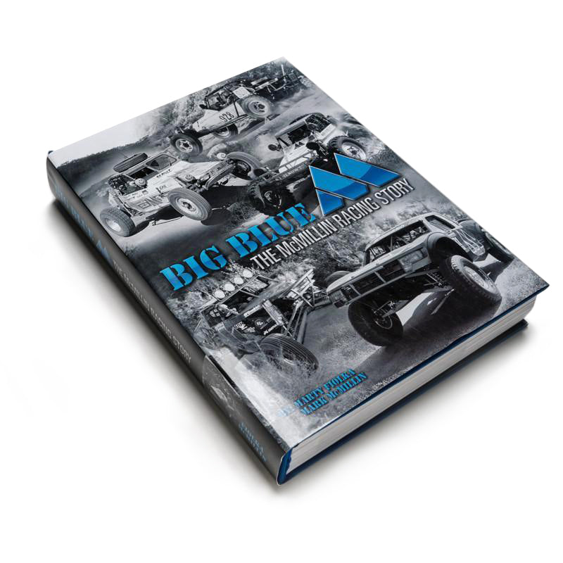 "BIG BLUE ""M"" Book - The McMillin Racing Story"