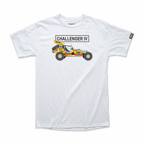 Mickey Thompson Challenger IV T-Shirt (White)